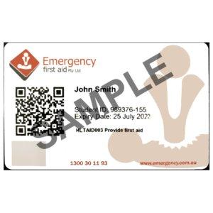 Wallet card certificate