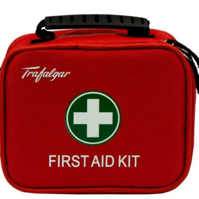 Travel First Aid Kit closed